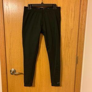 Nike fleece-lined leggings